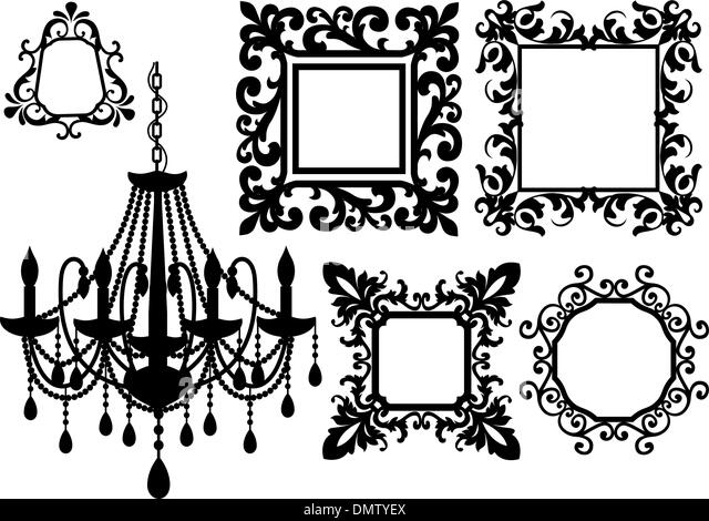 Chandelier Ornament Candle Stock Photos Amp Chandelier