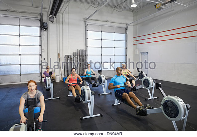 groups rowing machine