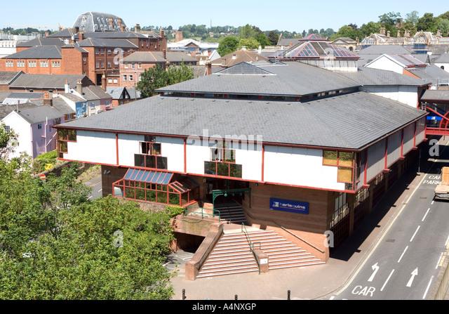 Harlequin Shopping Centre Exeter Car Park