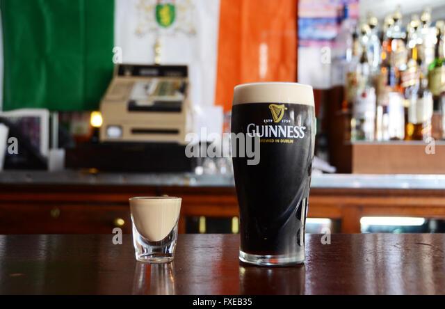 Optics bar stock photos optics bar stock images alamy for Guinness beer in ireland