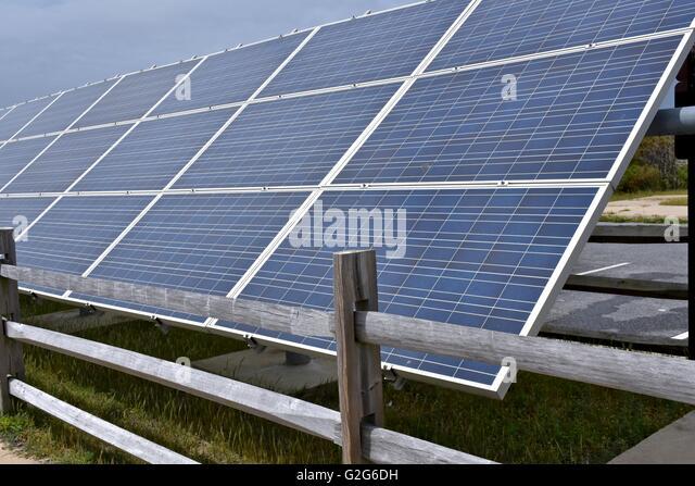 Solar Panels At Beach Stock Photos Amp Solar Panels At Beach