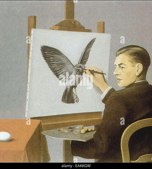 Préférence Rene Magritte Painting Stock Photos & Rene Magritte Painting Stock  IZ48