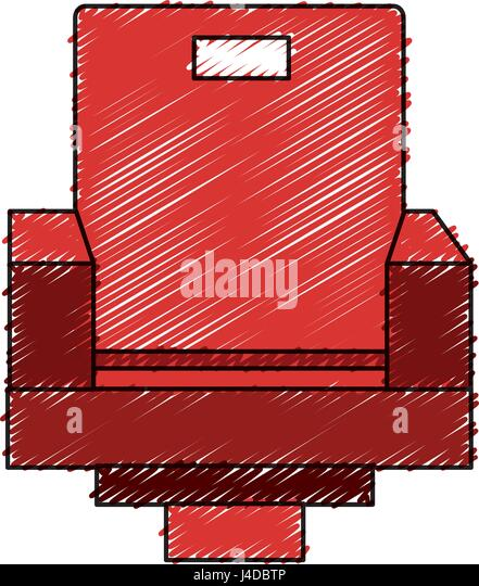 movie theater chairs icon stock image - Movie Theater Chairs