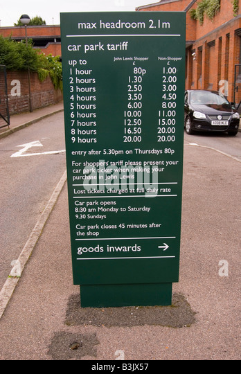 Bedford Station Car Park Prices