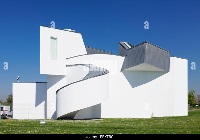 vitra design museum architect frank owen gehry weil am rhein stock photo picture and royalty. Black Bedroom Furniture Sets. Home Design Ideas