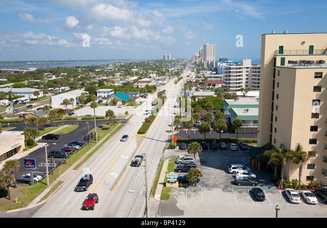 North Atlantic Avenue Daytona Beach Florida  Usa