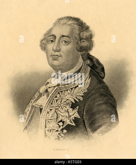 a biography of louis xvi the king of france from 1774 1792 (1792-1795)† as in all political events in history, key figure rise to fame, or  infamy  louis xvi, king of france 1774-1793 last king of.
