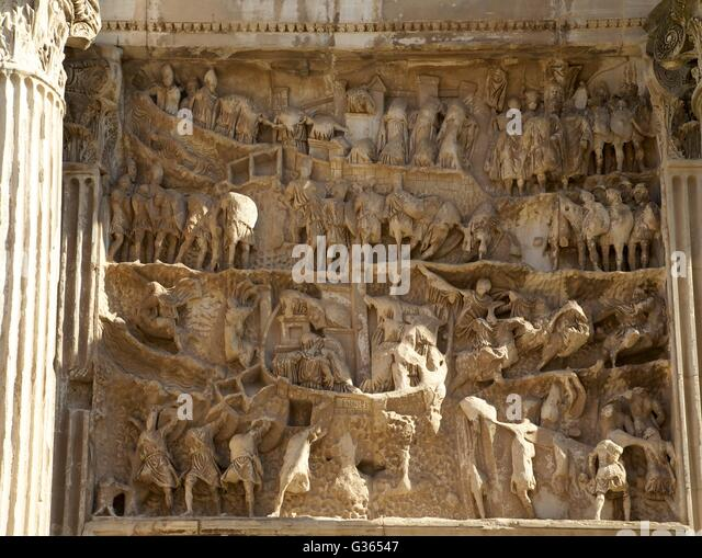 Roman Relief Carvings Stock Photos & Roman Relief Carvings ...