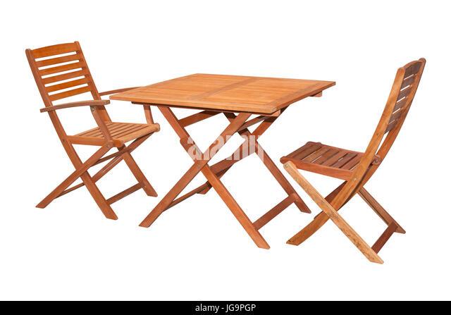 wooden garden furniture stock photos wooden garden furniture stock