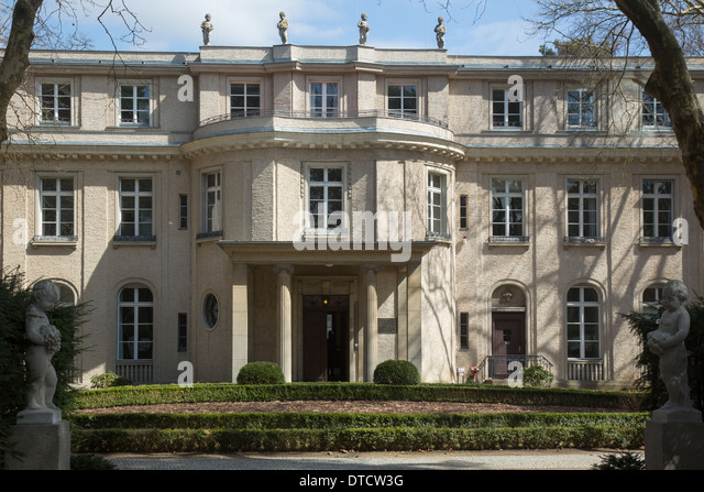 Wannsee conference house stock photos wannsee conference house stock