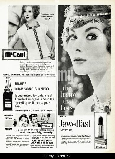 1950s advertising vintage original women s fashion magazine