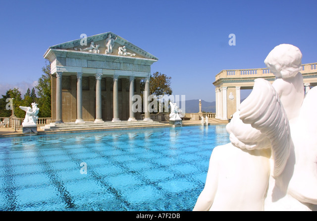 Rich history stock photos rich history stock images alamy - Hearst castle neptune pool swim auction ...