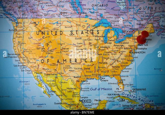United States Road Map Stock Photos United States Road Map Stock - America map