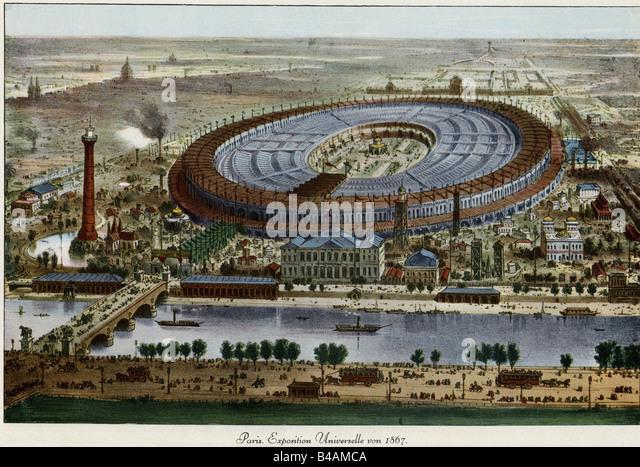 1867 paris exhibition stock photos 1867 paris exhibition for Expo paris mars