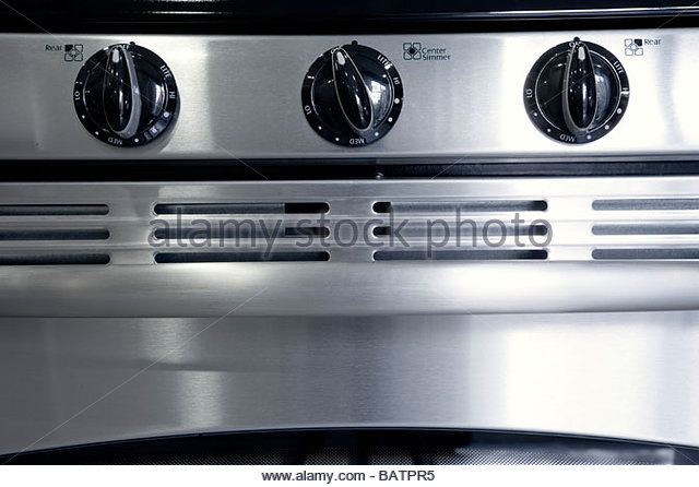 Detail Of Oven And Stove Knobs   Stock Image