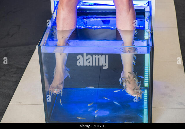 Ticklish stock photos ticklish stock images alamy for Fish cleaning feet