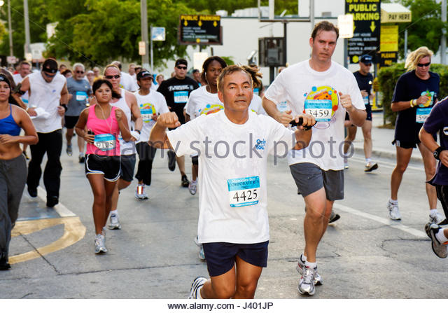 Mercedes benz miami corporate run stock photos mercedes for Miami mercedes benz corporate run