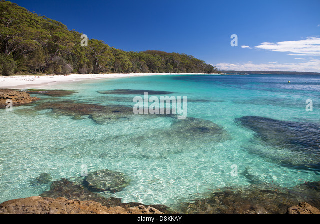 Murrays Beach Jervis Bay Nsw Australia Stock Image