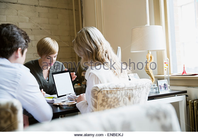 Presenting Business Client Stock Photos Presenting Business Client Stock Images Alamy