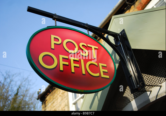 post office uk sign stock photos post office uk sign stock images alamy. Black Bedroom Furniture Sets. Home Design Ideas