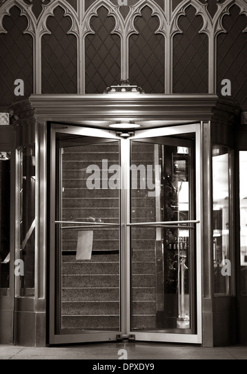 Elegant Residential Building Entrance Doors. Rotating Doors. Architecture Details. - Stock Image & Rotating Door Stock Photos u0026 Rotating Door Stock Images - Alamy pezcame.com