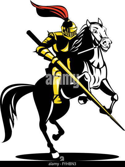 Image Gallery knight on horse sword