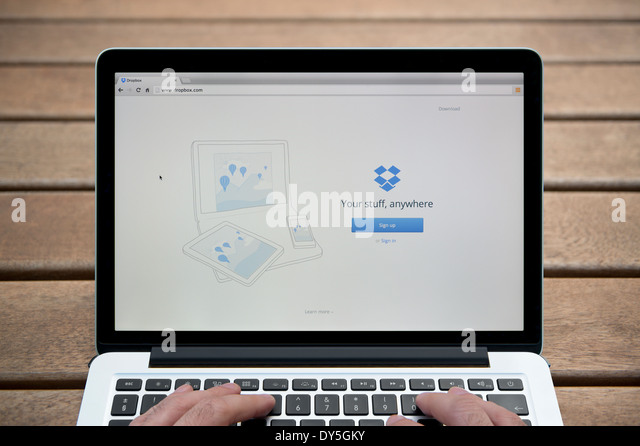 how to use dropbox on macbook air