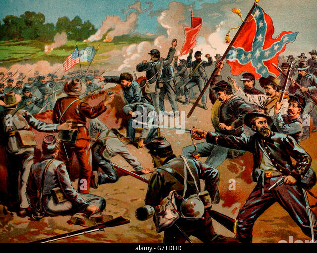 First Battle Of Bull Run Stock Photos & First Battle Of ...