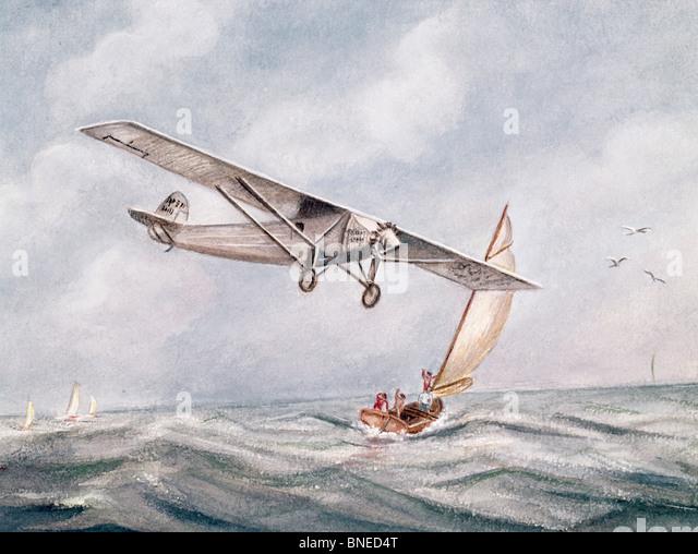 Lindberghs stock photos lindberghs stock images alamy for New york to paris flight
