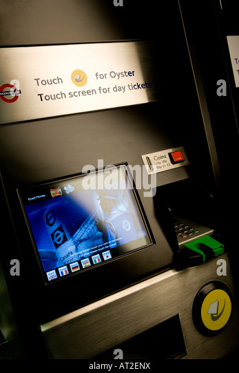 london underground ticket machines how to use