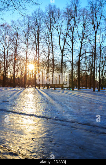 Frogner Park Winter Stock Photos & Frogner Park Winter ...