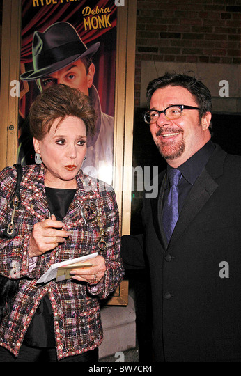 Opening Night Of CURTAINS On Broadway   Stock Image