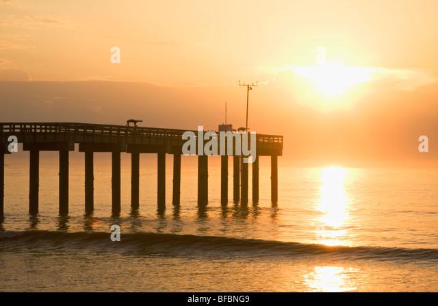 St augustine beach stock photos st augustine beach stock for St augustine fishing pier