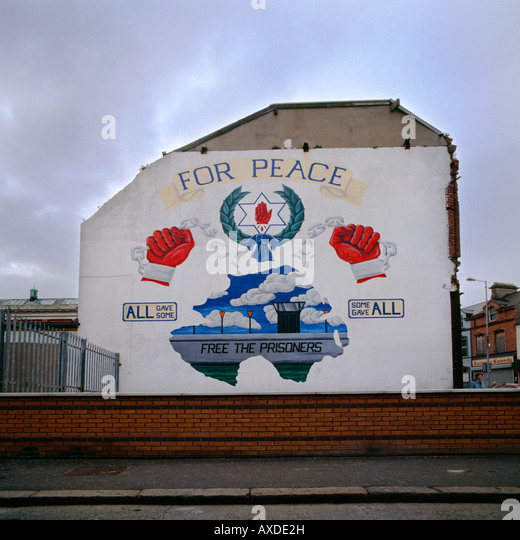 Shankhill road stock photos shankhill road stock images for Murals belfast