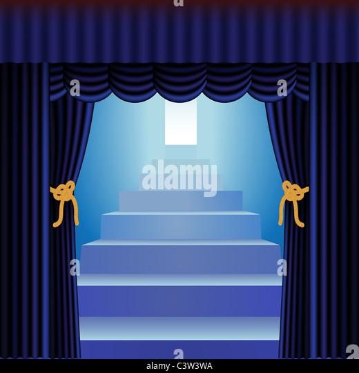 Closing Curtains Stock Photos & Closing Curtains Stock Images - Alamy