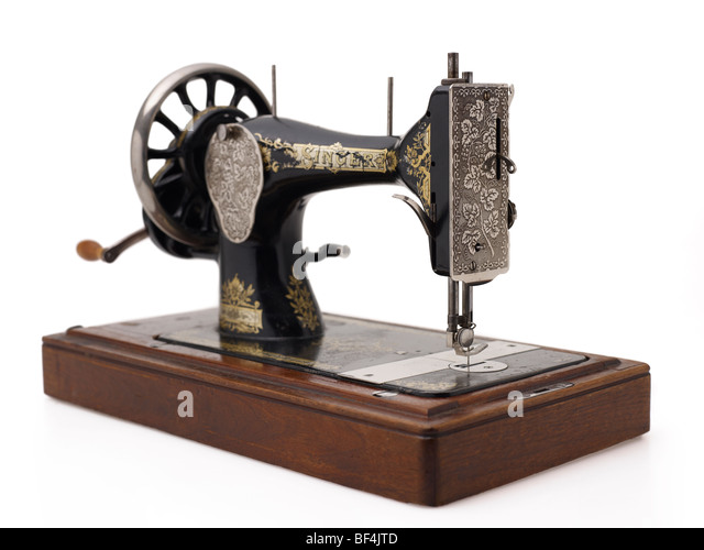 antique singer manual sewing machine