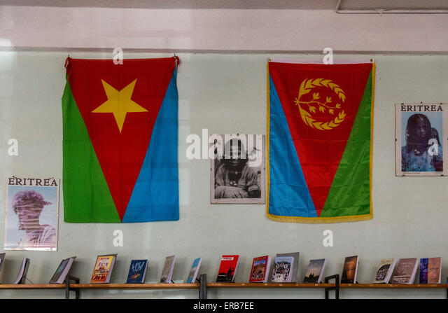Image result for photo of Eritrean EPLF flags