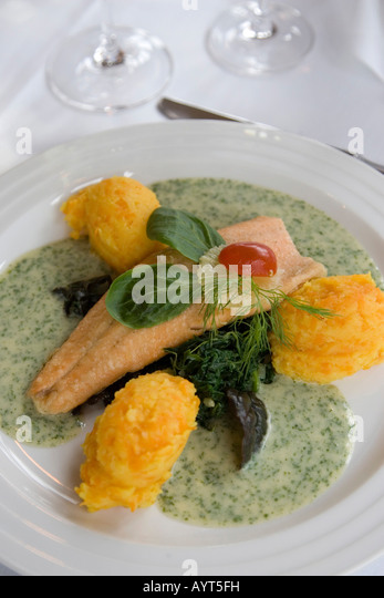 Fish filet stock photos fish filet stock images alamy for Creamy sauce served with fish