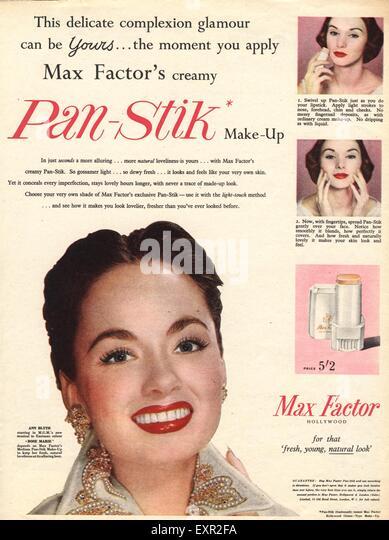 Max Factor Makeup Stock Photos & Max Factor Makeup Stock Images ...