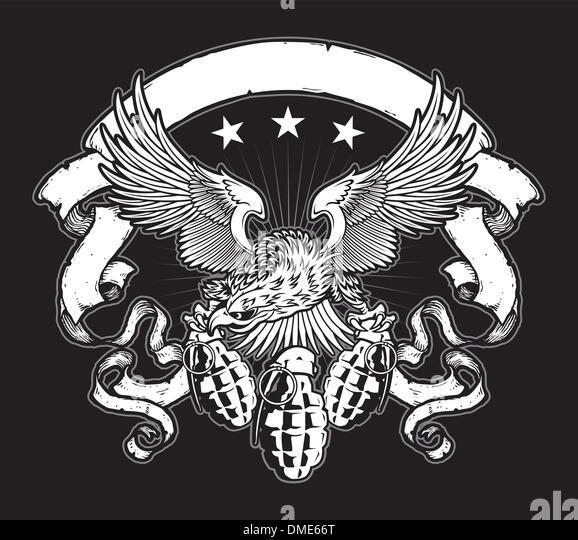 Military Eagle Vector 22607 | MEDIABIN