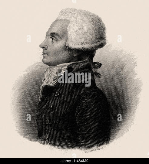 French Revolution Maximilien Robespierre Robespierre Stock Phot...
