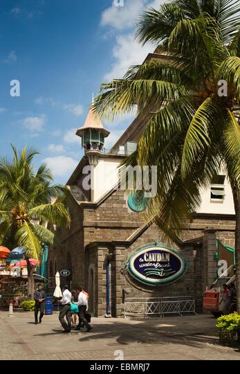 Port louis waterfront stock photos port louis waterfront stock images alamy - Restaurants in port louis mauritius ...