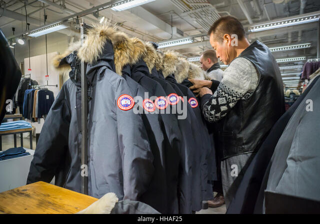 cleaning a canada goose jacket