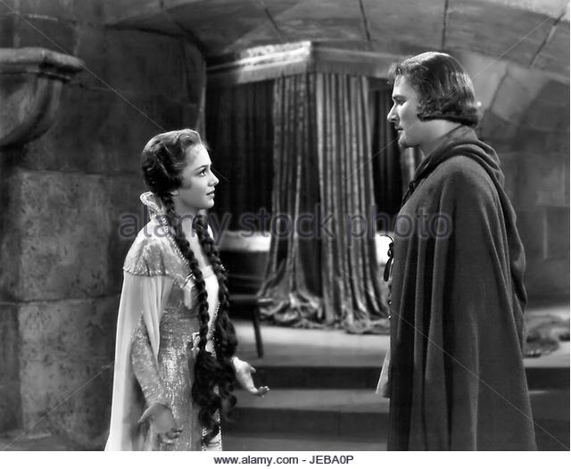 The Adventures of Robin Hood starring Olivia De Havilland (1938) - Stock Image