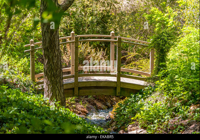 Country gardens water japanese stock photos country for Japanese style bridge