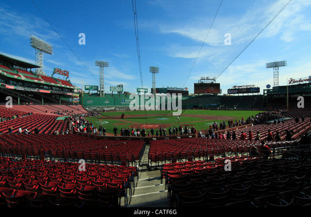 Boston Massachusetts USA April 19 2012 Eighteen Minutes After Fenway Park