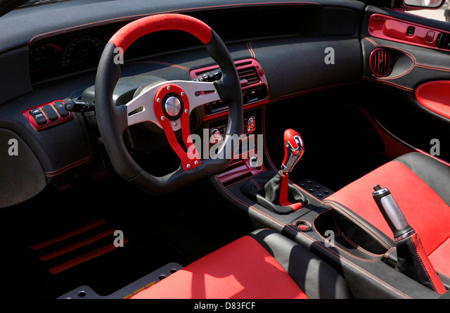 interior dashboard leather custom stock photos interior dashboard leather custom stock images. Black Bedroom Furniture Sets. Home Design Ideas