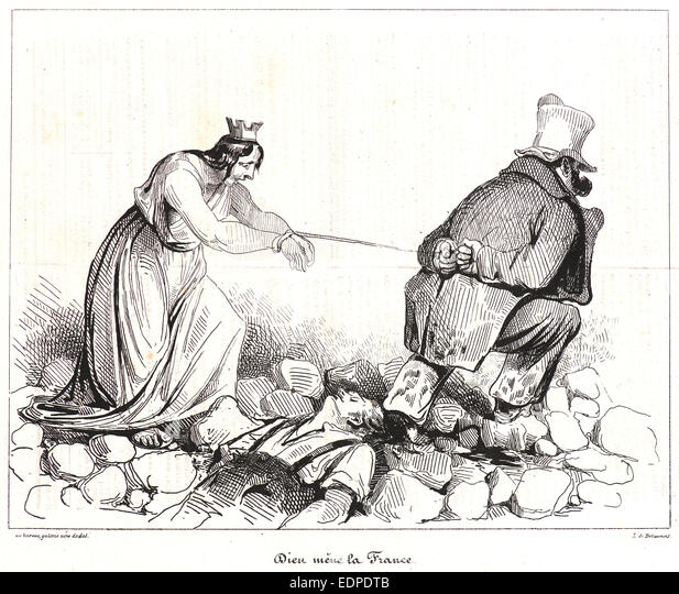 Honore Daumier ALS Lithograph (German Edition)