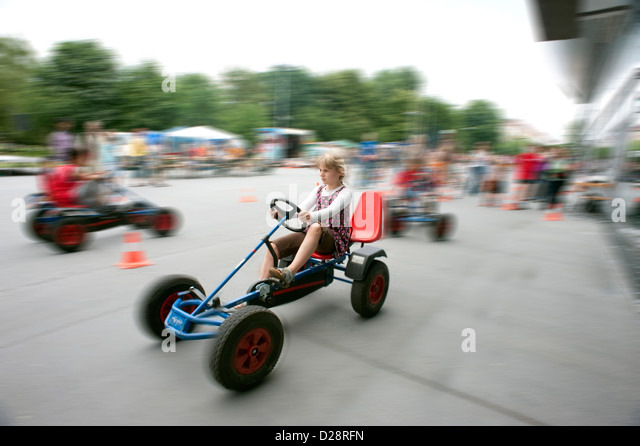 pedal go kart stock photos pedal go kart stock images alamy. Black Bedroom Furniture Sets. Home Design Ideas
