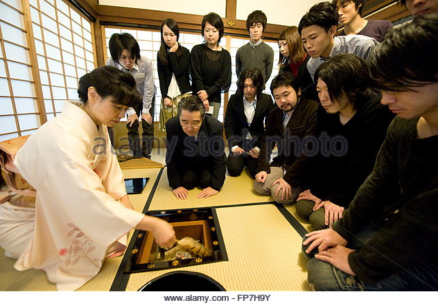 Tale Of Genji And Tea Room